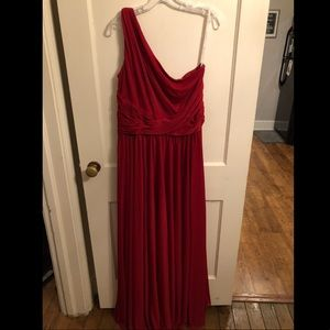 Red Bridesmaid Dress - Size 14
